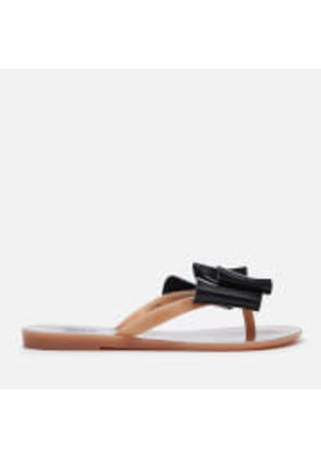Melissa Women's 3D Beach Slide Sandals - Black - UK 7 - Black