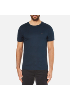 Michael Kors Men's Liquid Jersey Crew Neck Short Sleeve T-Shirt - Midnight - L - Blue