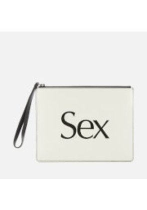 Christopher Kane Women's Sex Clutch - White