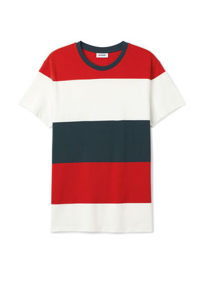 Tennis Stripe T-shirt - Red