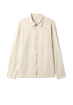 Temp Linen Shirt - Brown