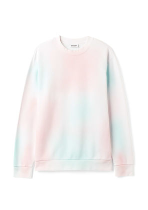 Steve Spray Dye Sweatshirt - White