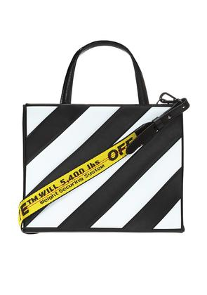 Off White Shoulder bag with a striped pattern