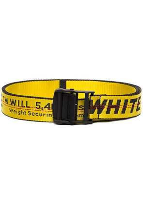 Off-White OFF INDUSTRIAL BLTS YEL - Yellow & Orange