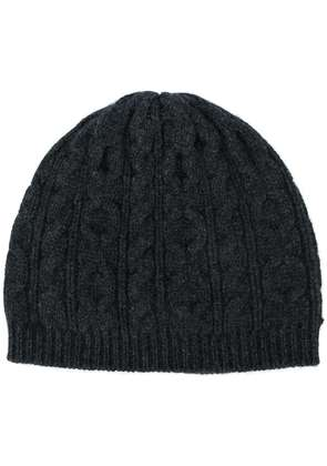 Pringle Of Scotland cable knit beanie - Grey