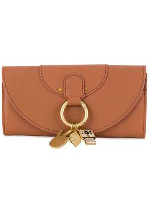See By Chloé charm wallet - Nude & Neutrals