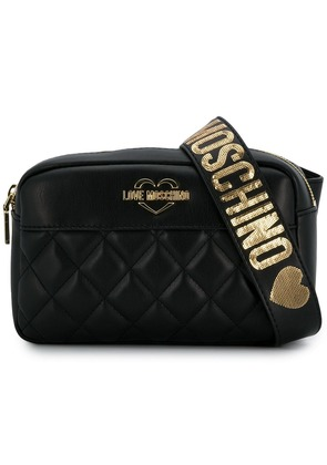Love Moschino shoulder strapped purse - Black