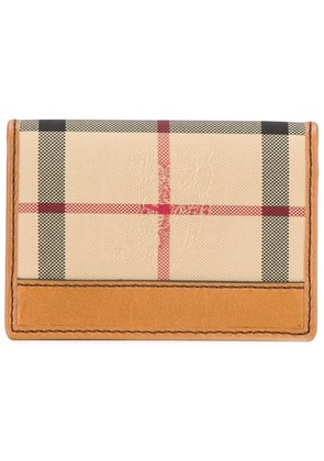Burberry 'House Check' cardholder - Nude & Neutrals