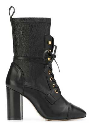 Stuart Weitzman Veruka lace-up boots - Black