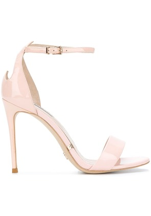 Gianni Renzi ankle strap sandals - Pink & Purple