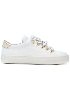 Tod's tassel trim sneakers - White