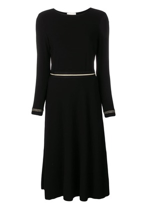 Marcha Liza belted dress - Black