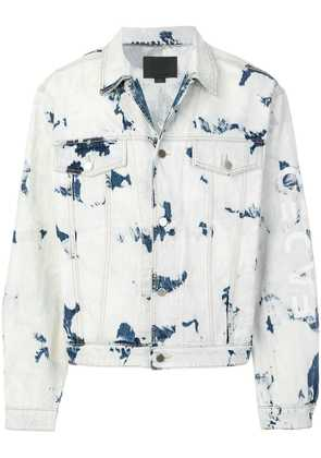 Alexander Wang Bleached Denim jacket - Blue