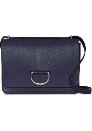 Burberry The Medium Leather D-ring Bag - Blue
