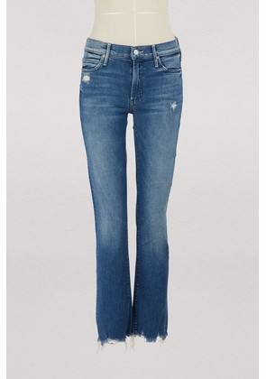 The Rascal high-waisted straight-cut cropped jeans