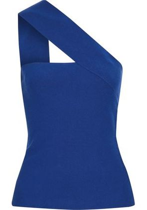 Bailey 44 Woman Ceremonial One-shoulder Stretch-knit Top Royal Blue Size M