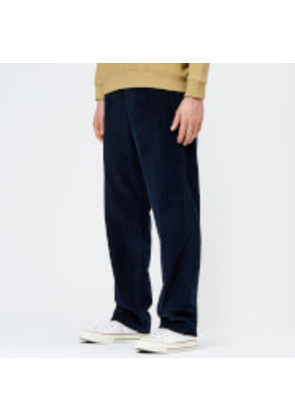 Our Legacy Men's Chino 22 Corduroy Trousers - Navy - S/EU 46 - Navy