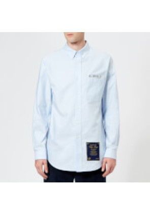 Alexander Wang Men's Ceo and House Rules Patch Shirt - Blue - S - Blue