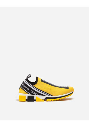 Dolce & Gabbana Sneakers and Slip-On - BRANDED SORRENTO SNEAKERS YELLOW