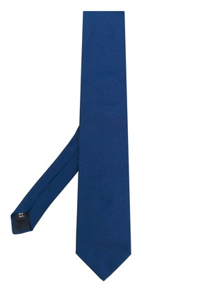 Fashion Clinic Timeless classic pointed tie - Blue