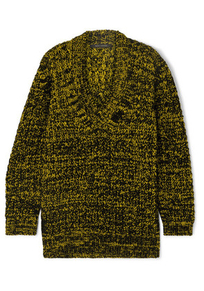 Marc Jacobs - Oversized Wool-blend Sweater - Yellow