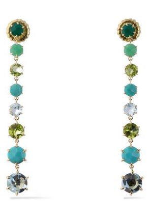 Ippolita Woman 18-karat Gold, Crystal And Stone Earrings Multicolor Size -
