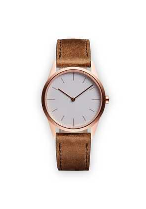 Uniform Wares C33 Two Hand Watch - Brown