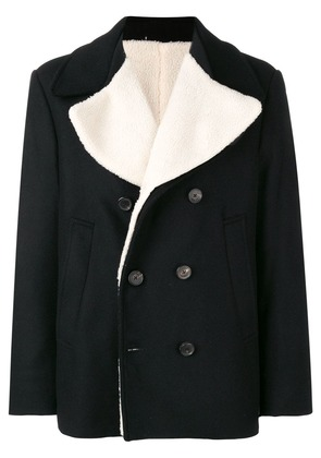Golden Goose Deluxe Brand double-breasted fitted coat - Black