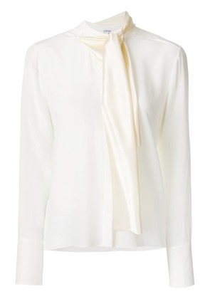 Loewe Lavalliere blouse - White
