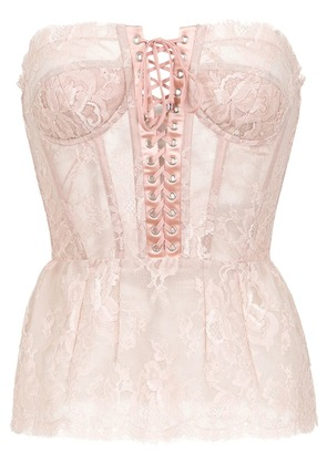 Dolce & Gabbana fitted bodice top - Pink
