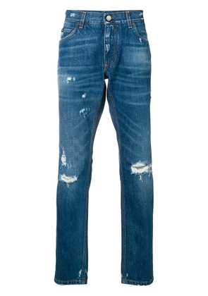 Dolce & Gabbana distressed denim jeans - Blue