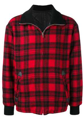 Isabel Marant plaid jacket - Red