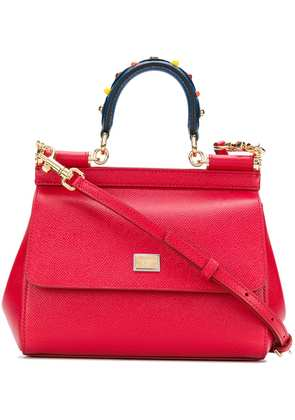 Dolce & Gabbana Sicily shoulder bag - Red