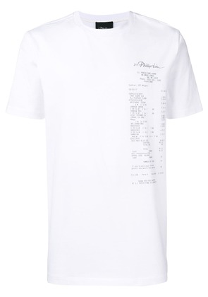 3.1 Phillip Lim photographic print T-shirt - White