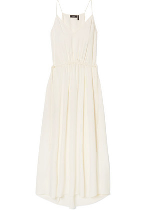 Theory - Silk-georgette Maxi Dress - Ivory