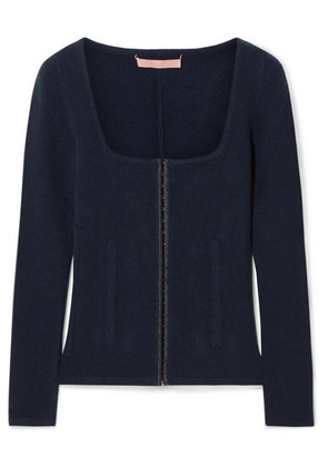 Brock Collection - Kennedy Wool And Cashmere-blend Sweater - Navy