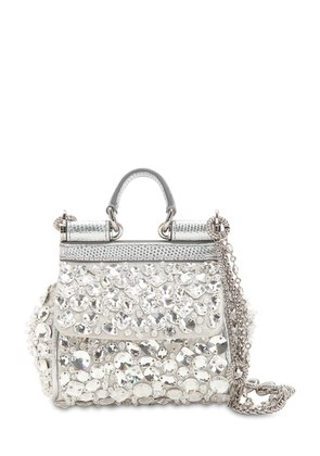 MICRO SICILY CRYSTALS EMBELLISHED BAG