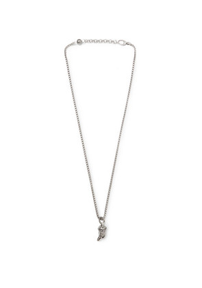 Gucci - Eagle's Head Sterling Silver Necklace - Silver