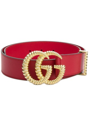 Gucci Double G belt - Red