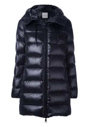 moncler black down suyen coat