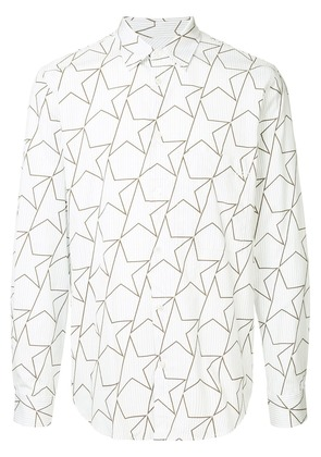 Golden Goose Deluxe Brand Star print shirt - White