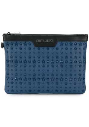 Jimmy Choo Derek clutch bag - Blue