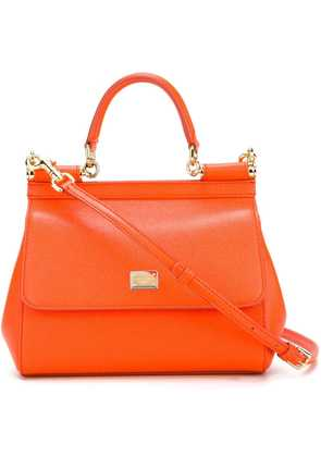 Dolce & Gabbana small Sicily shoulder bag - Yellow & Orange