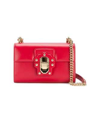 Dolce & Gabbana Mini Red Lucia messenger bag