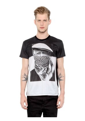 PICASSO PRINTED COTTON JERSEY T-SHIRT