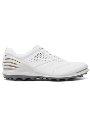 Ecco Golf - Cage Pro Hydromax Leather Golf Shoes - White