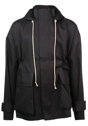 Camiel Fortgens hooded jacket - Black