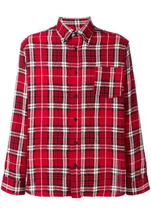 Isabel Marant casual checked shirt - Red
