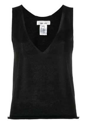 Circus Hotel V-neck tank top - Black