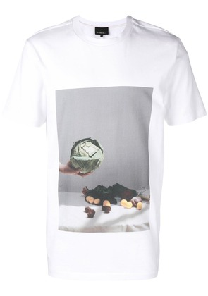 3.1 Phillip Lim vegetable motif T-shirt - White